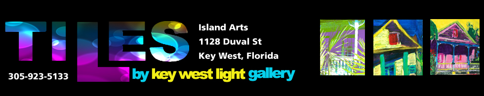 Tiles by Key West Light Gallery. 305-923-5133